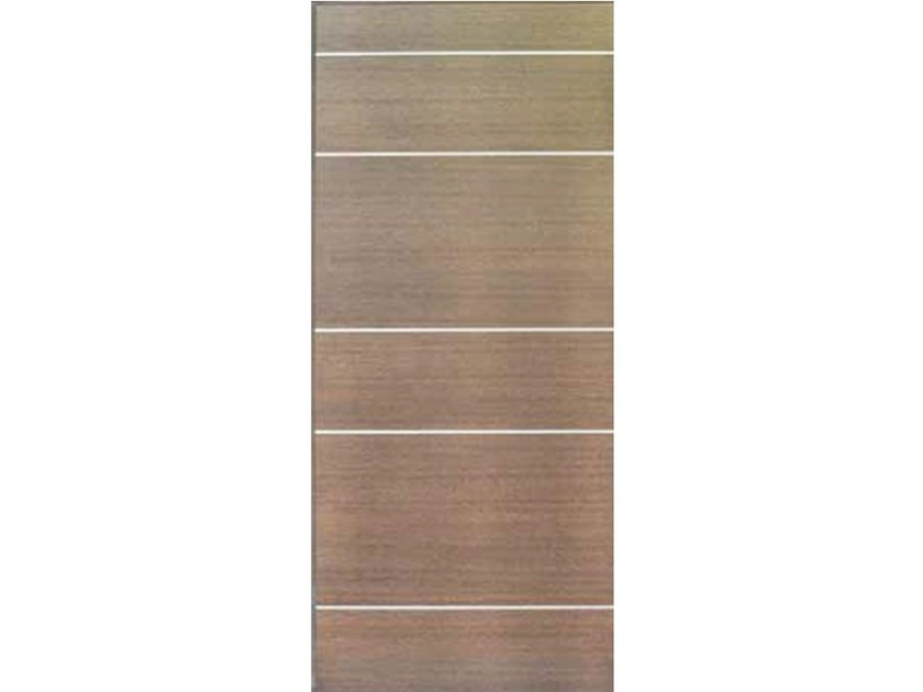 Wood veneer armoured door panel PAN165 NEW by OMI ITALIA