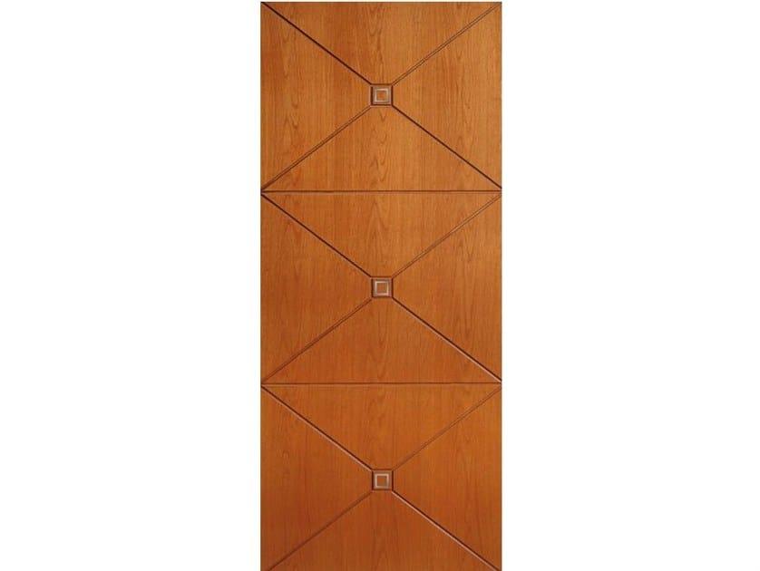 Wood veneer armoured door panel PAN164 by OMI ITALIA