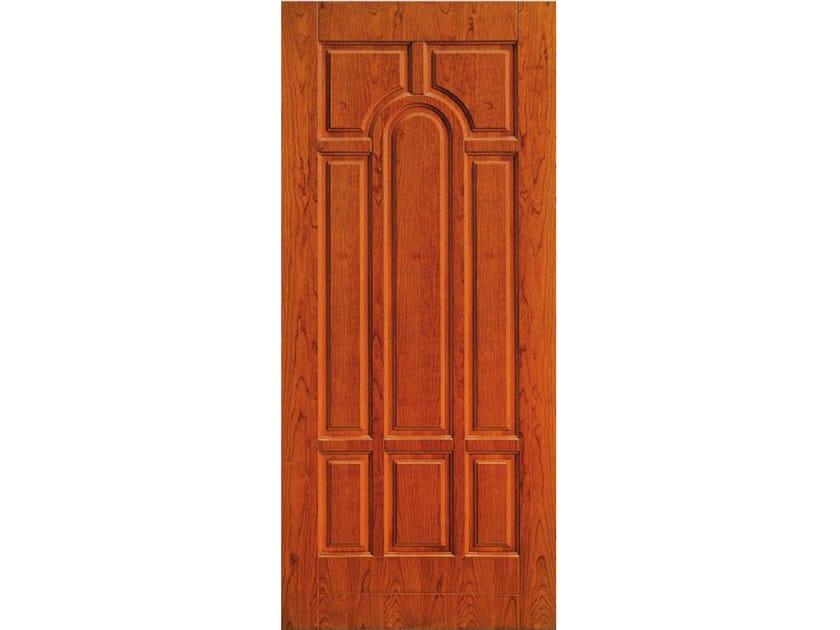 Wood veneer armoured door panel PAN183 by OMI ITALIA
