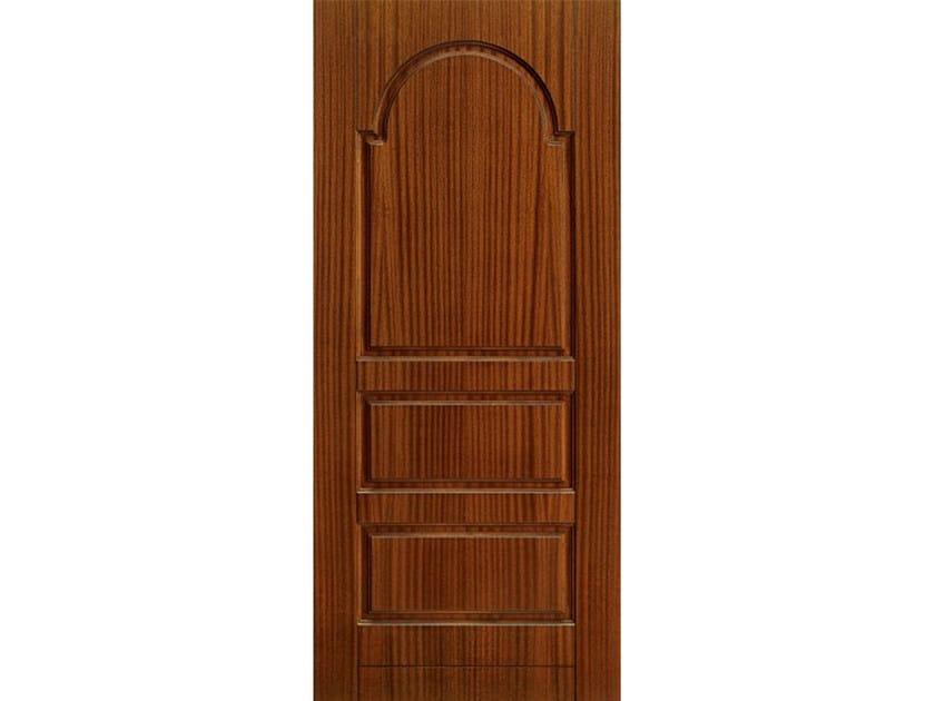 Wood veneer armoured door panel PAN184 by OMI ITALIA