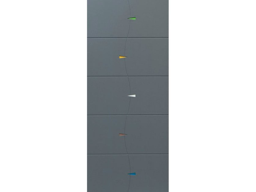 Armoured door panel PAN207 by OMI ITALIA