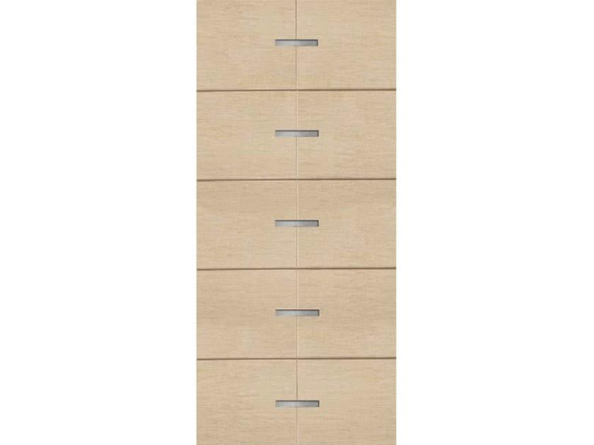 Wood veneer armoured door panel PAN191 by OMI ITALIA