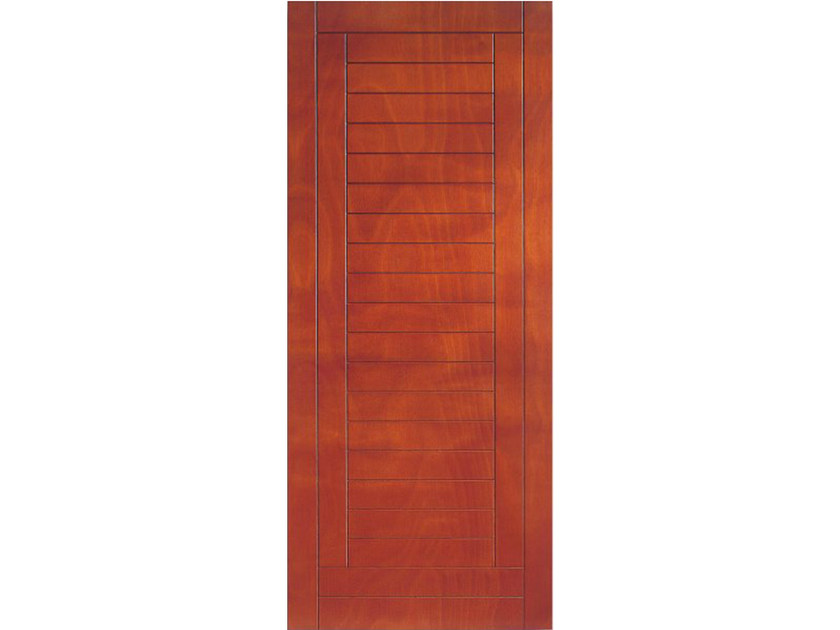Okoumé armoured door panel PAN178 by OMI ITALIA