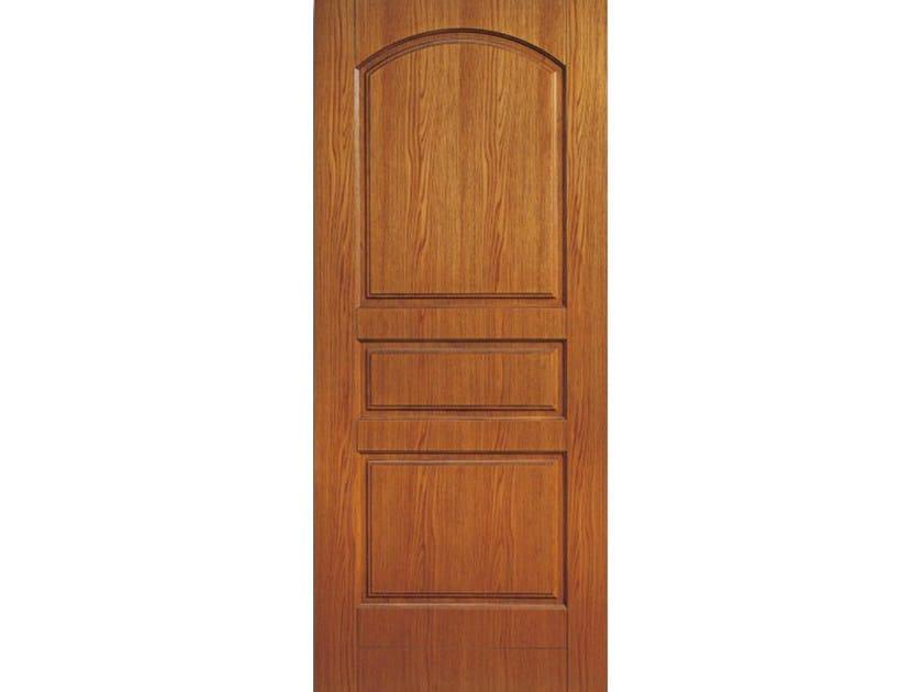 Wood veneer armoured door panel PAN168 by OMI ITALIA
