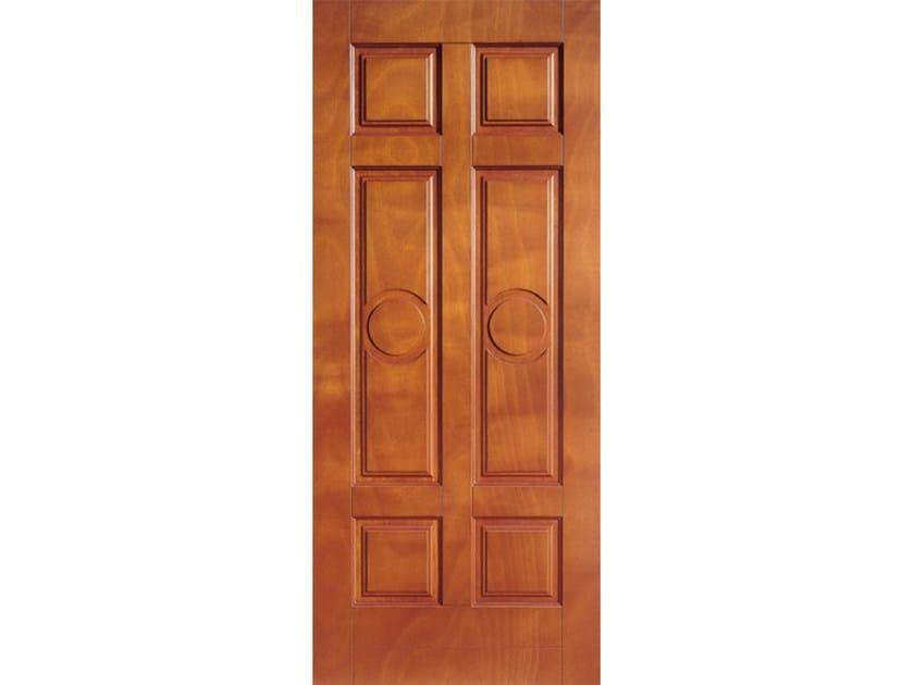 Okoumé armoured door panel PAN176 by OMI ITALIA
