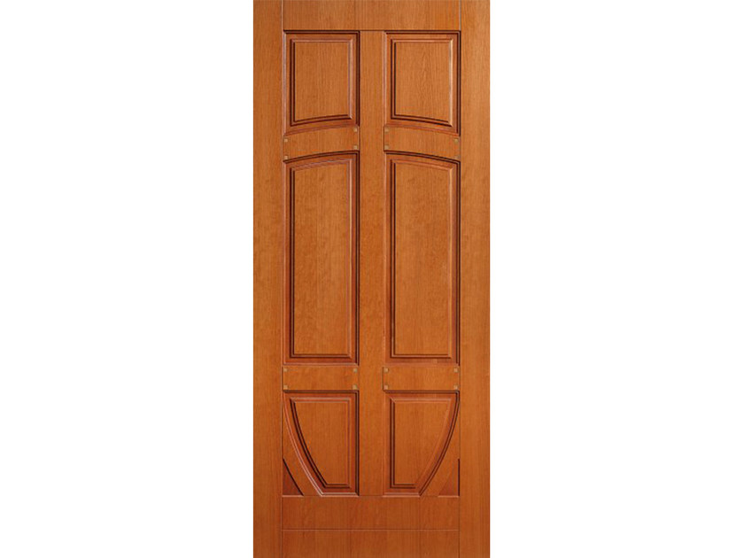 Wood veneer armoured door panel PAN163 by OMI ITALIA