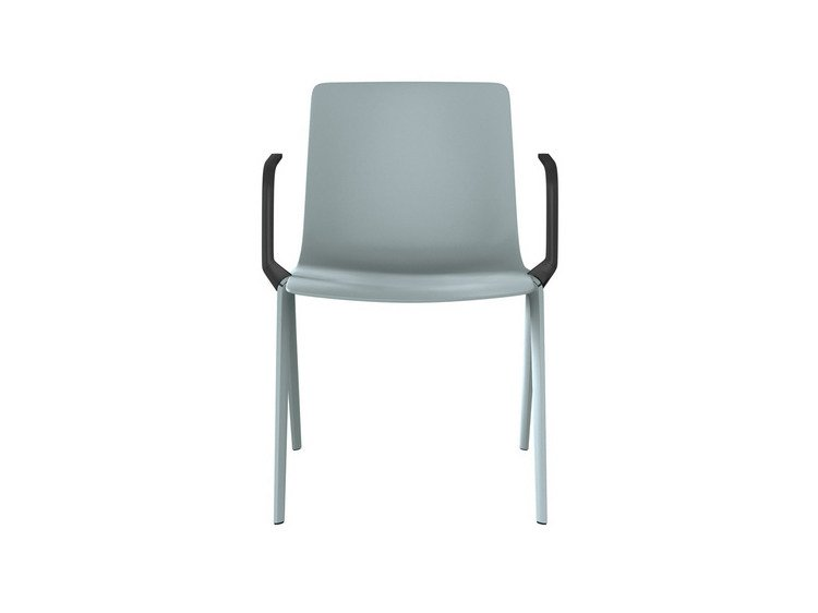 A-CHAIR | Chair with armrests By Brunner design Jehs+Laub