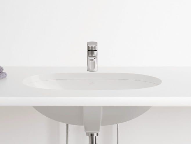 Undermount ceramic washbasin O.NOVO   Undermount washbasin by Villeroy & Boch