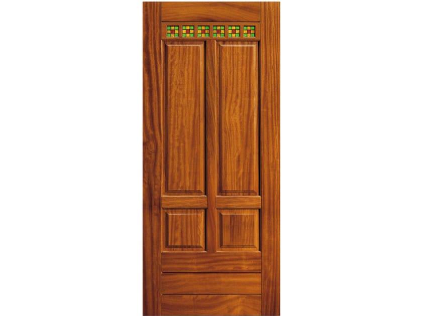 Cherry wood armoured door panel BI151 by OMI ITALIA