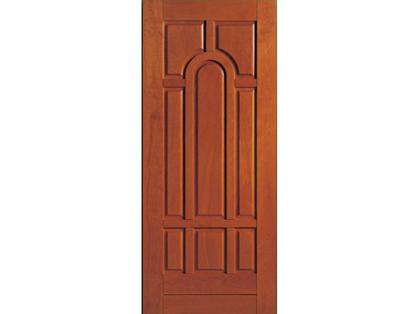 Cherry wood armoured door panel BI129 by OMI ITALIA