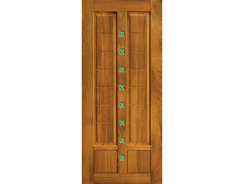 Iroko armoured door panel BI152 by OMI ITALIA