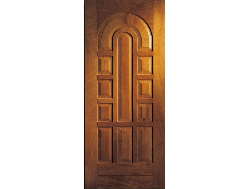 Iroko armoured door panel BI127 by OMI ITALIA