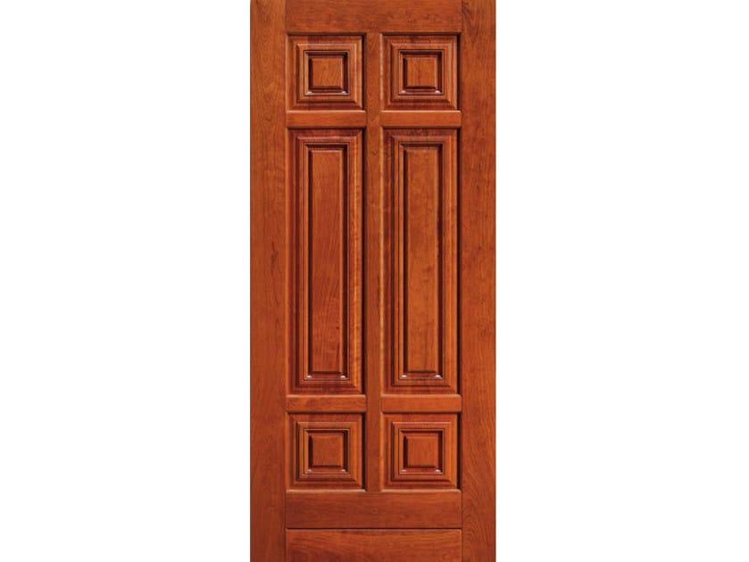 Cherry wood armoured door panel BI147 by OMI ITALIA