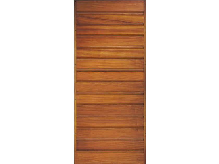 Wooden armoured door panel BI154 by OMI ITALIA