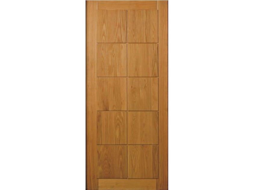 Oak armoured door panel BI161 by OMI ITALIA