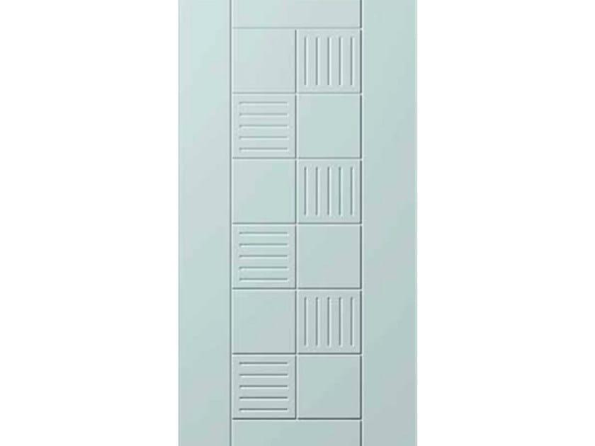 Aluminium armoured door panel E-STYLE 11 by OMI ITALIA