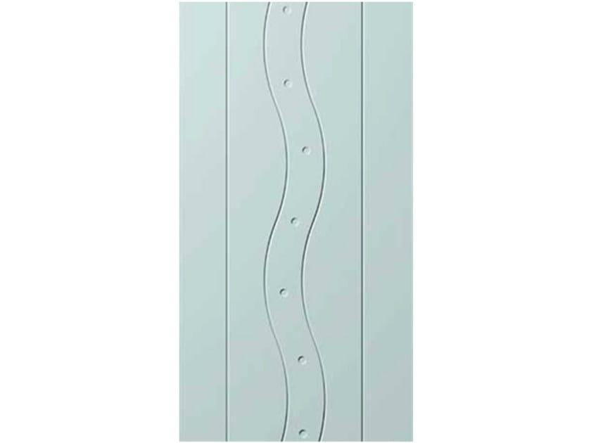 Aluminium armoured door panel E-STYLE 23 by OMI ITALIA