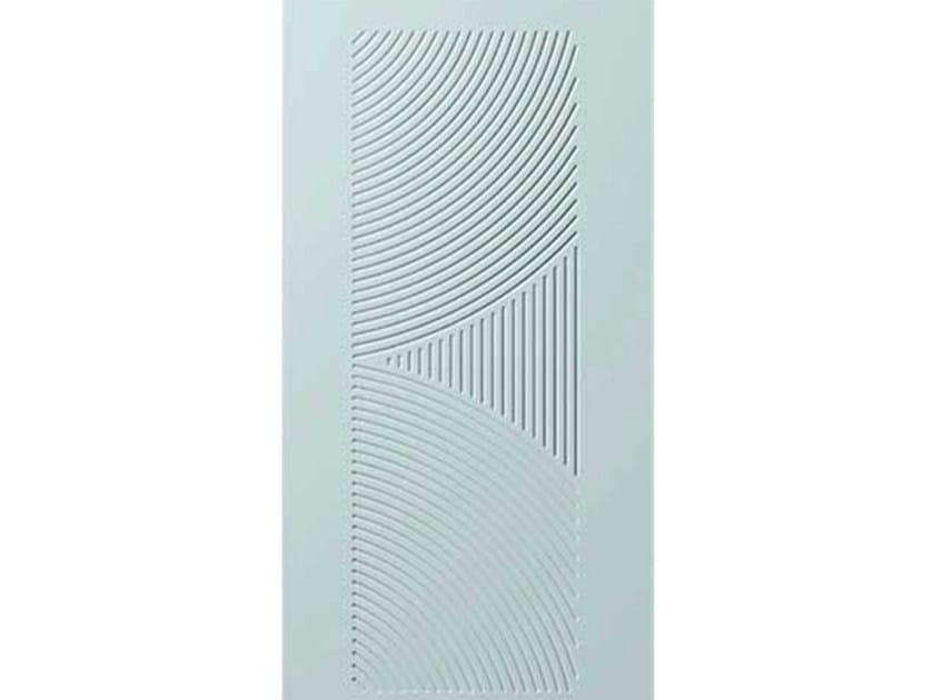Aluminium armoured door panel E-STYLE 17 by OMI ITALIA