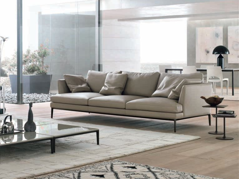 Leather sofa PORTOFINO | Leather sofa by ALIVAR