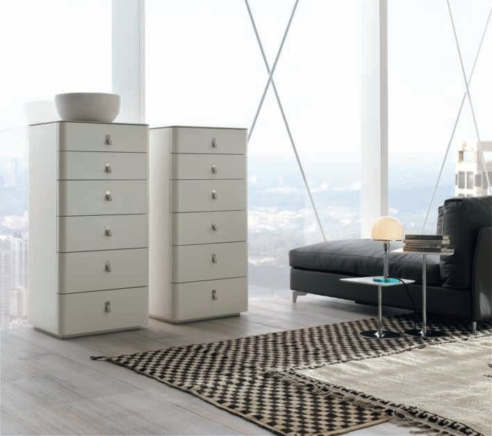 Wooden chest of drawers KUBE | Chest of drawers by ALIVAR