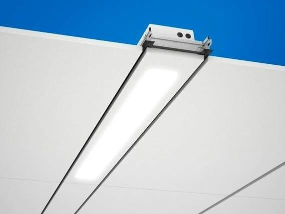 LED recessed Lamp for false ceiling Ecophon Line™ LED by Saint-Gobain ECOPHON