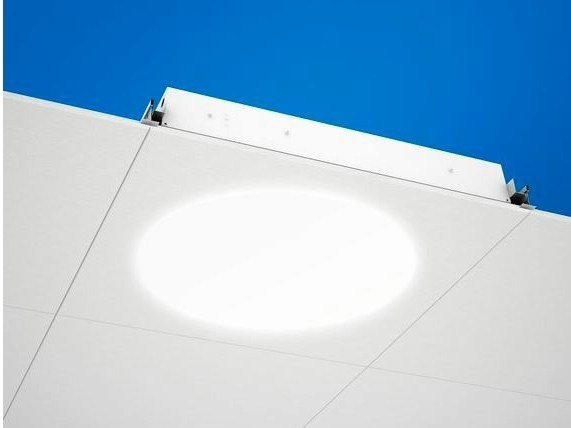LED recessed Lamp for false ceiling Ecophon Dot™ LED by Saint-Gobain ECOPHON