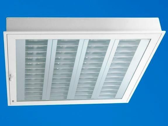 Recessed Lamp for false ceiling Ecophon Hygiene Lavanda™ T5 C3 by Saint-Gobain ECOPHON
