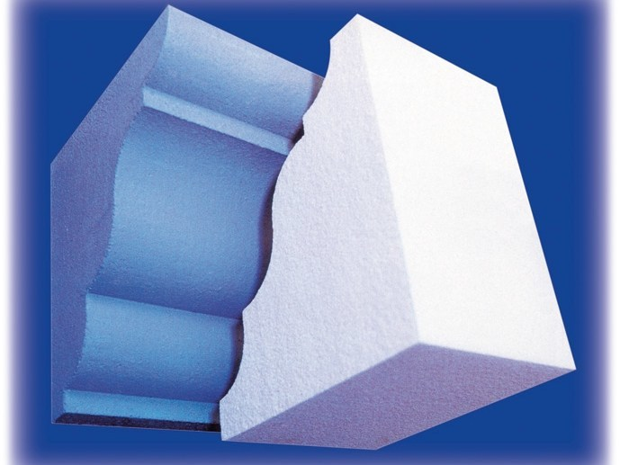 Polystyrene matrix for decorative element MATRICI STILE by Sive