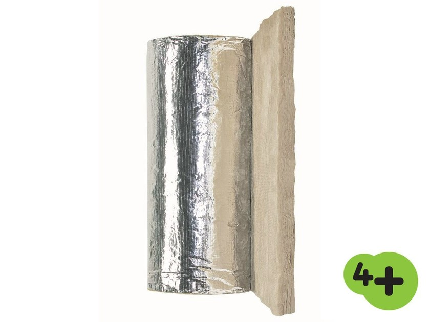Glass wool Thermal insulation panel / Sound insulation and sound absorbing panel in mineral fibre GOAL 4+ by Saint-Gobain ISOVER