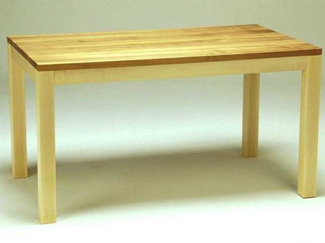Rectangular wooden dining table SOLID | Table by sixay furniture