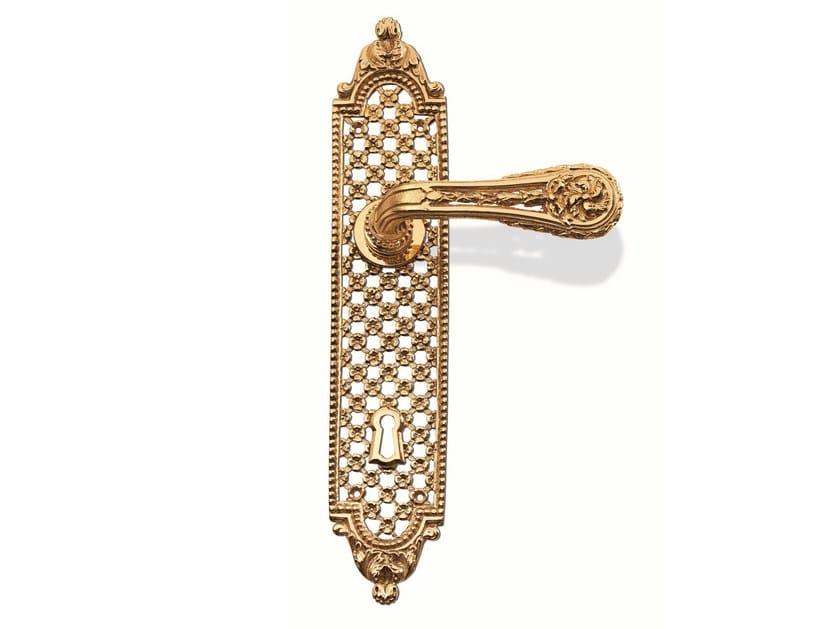Brass door handle C05110 - SOFIA   Brass door handle by Enrico Cassina