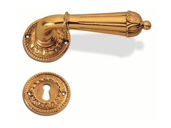 Brass door handle C08311 - STEFANIA | Brass door handle by Enrico Cassina