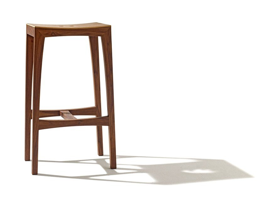 High wooden barstool OTTO | Barstool by sixay furniture