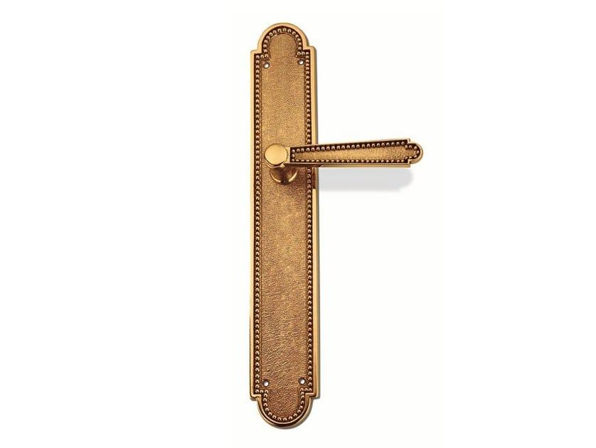 Brass door handle C12210 - VIRGINIA | Brass door handle by Enrico Cassina