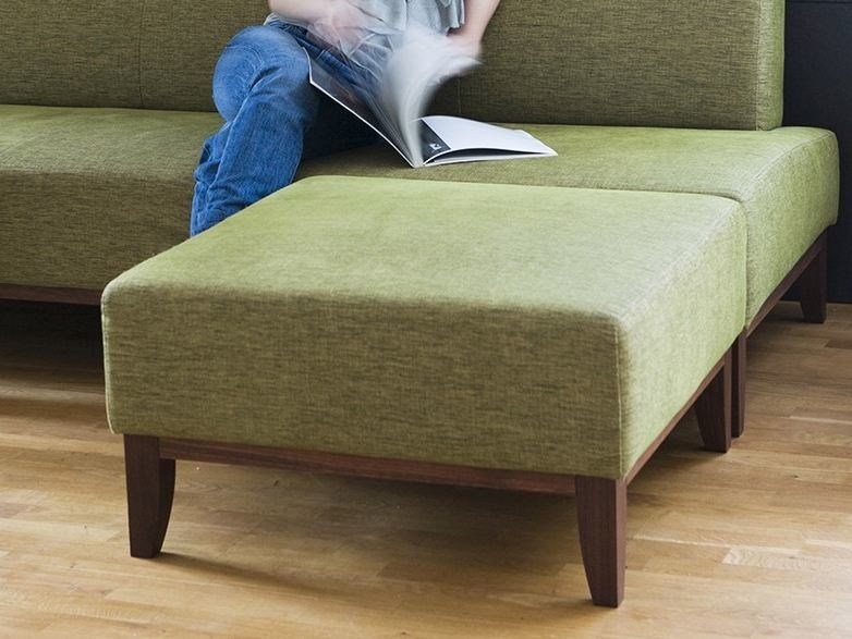 Fabric footstool MAMMA   Footstool by sixay furniture