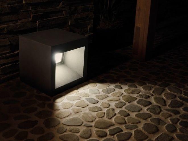 Cement Floor lamp CEMENTO STYLE MODULO R by Lombardo