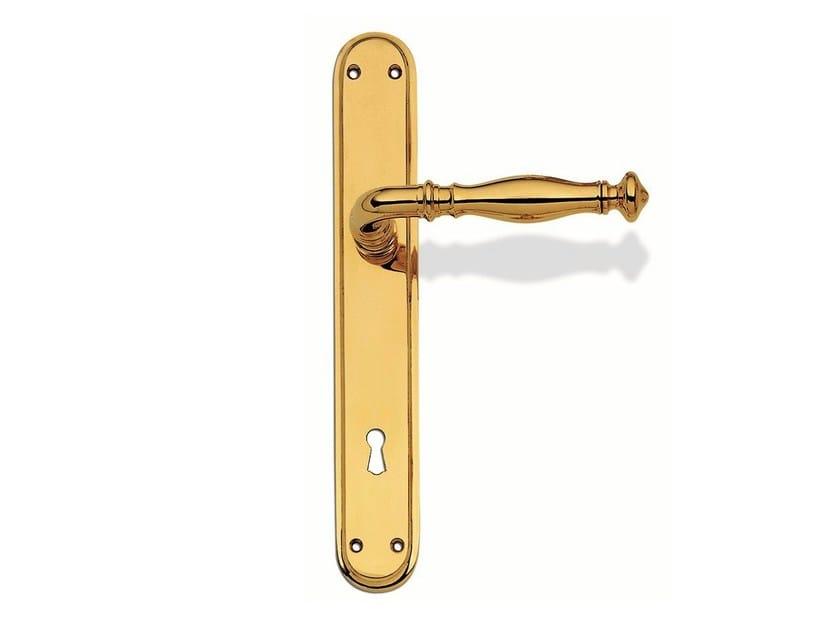 Brass door handle C13810 - MELANIE | Brass door handle by Enrico Cassina