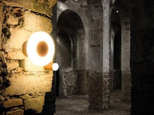 LED PMMA wall lamp CLAMP 60 SMALL by Lombardo