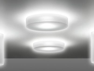 LED PMMA ceiling lamp CLAMP 60 BIG   Ceiling lamp by Lombardo