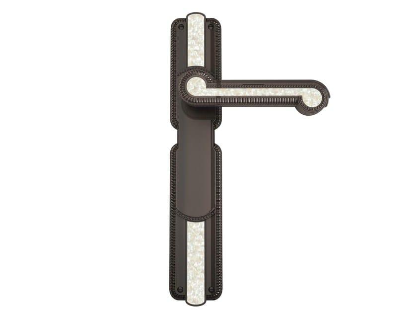 Brass door handle C03010 - MADREPERLA | Brass door handle by Enrico Cassina