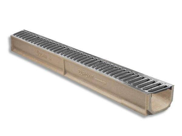 Drainage channel and part EUROKIT by Ulma Architectural