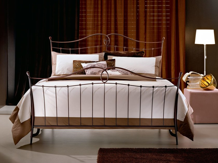 Wrought iron double bed KELLY | Double bed by CIACCI