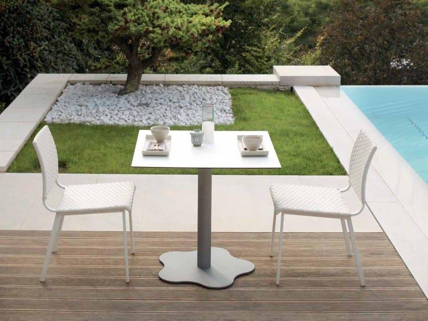 Square garden table SAMBA RIO | Garden table by Roberti Rattan