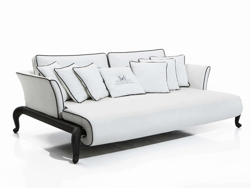Relaxing fabric sofa CANOPO | Relaxing sofa by Samuele Mazza by DFN