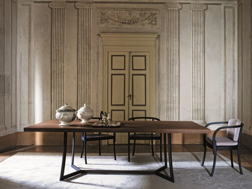 Rectangular wooden table KING | Rectangular table by CIACCI