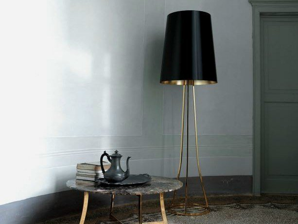 Direct-indirect light floor lamp SKIN | Floor lamp by CIACCI