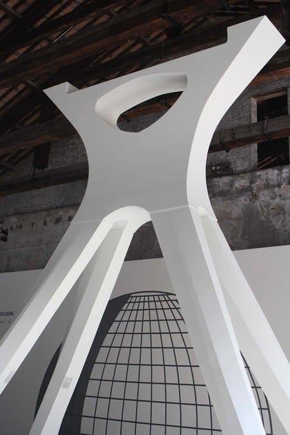 Allestimenti stand in EPS Padiglione Arsenale - Biennale Architettura 2014 - Venezia