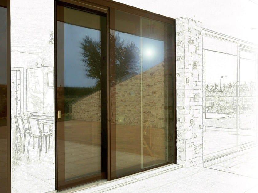 Vitrum Double Patio Door By Carminati Serramenti