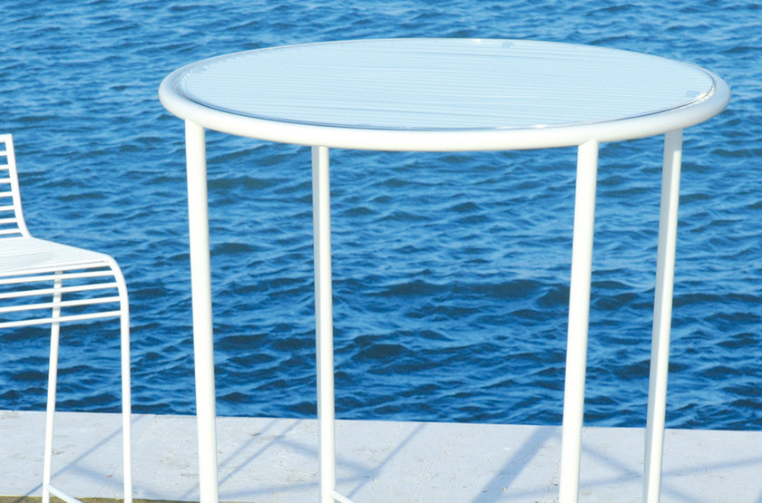 Round high table GRID   High table by CIACCI