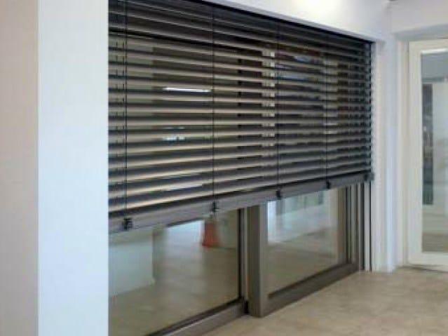 Frangisole con cordina in alluminio frangisole con cordina carminati serramenti - Tende veneziane da esterno ...